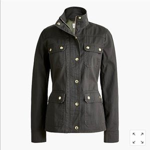 J Crew Factory Green Field Jacket
